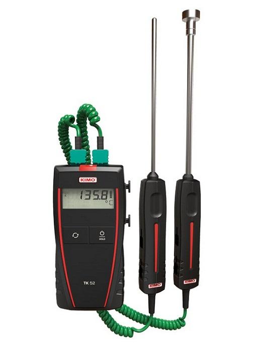 Máy đo nhiệt độ tiếp xúc 2 kênh đo KIMO TK52