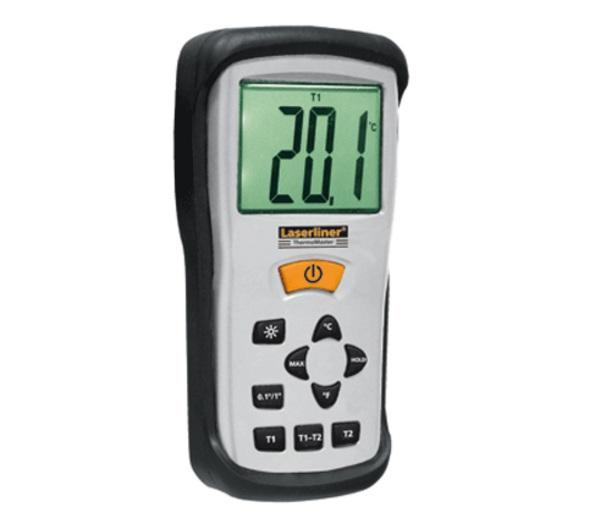 Máy đo nhiệt độ tiếp xúc 2 kênh đo LaserLiner 082.035A