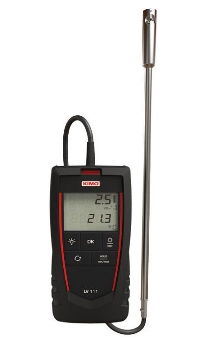 Máy đo sức gió, lưu lượng gió KIMO LV111