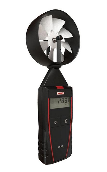Máy đo sức gió, nhiệt độ môi trường KIMO LV50