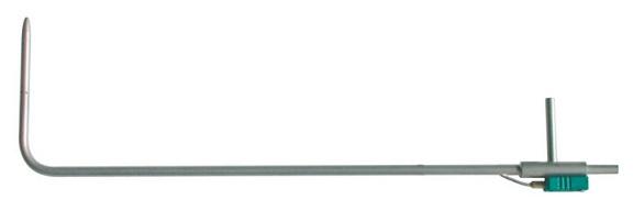 Ống PTIOT loại L có đầu cắm nhiệt độ kiểu K KIMO TPL-08-1000-T