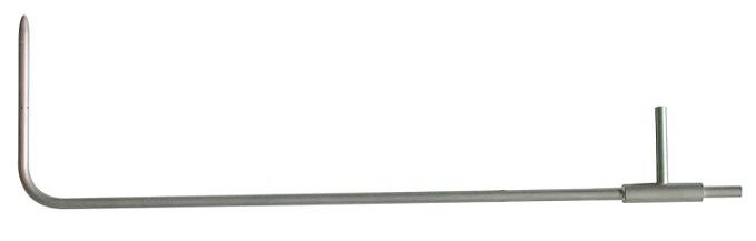Ống PTIOT loại L có đầu cắm nhiệt độ kiểu K KIMO TPL-12-1500-T