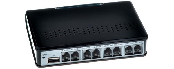 Máy ghi âm điện thoại 16 lines cổng USB TANSONIC T5U16
