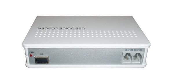 Máy ghi âm điện thoại 4 lines, cổng USB TANSONIC T5U4