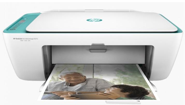 Máy in phun màu Wifi HP Deskjet Ink Advantage 2675 AIO (V1N02B)