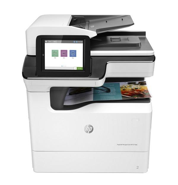 Máy in phun màu đa chức năng HP PageWide Managed Color MFP E77660dn
