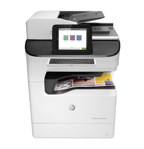 Máy in phun màu đa chức năng HP PageWide Managed Color MFP E77660zs