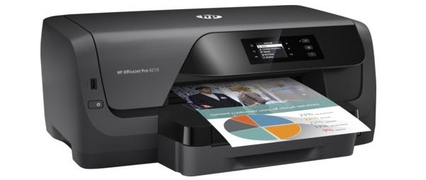 Máy in phun màu không dây HP OfficeJet Pro 8210 (D9L63A)