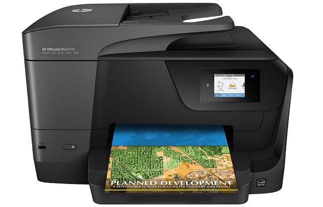 Máy in phun màu không dây đa chức năng HP OfficeJet Pro 8710