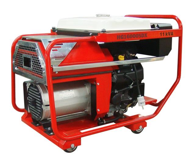 Máy phát điện công suất 11KVA HONDA HG16000SDX(OP)