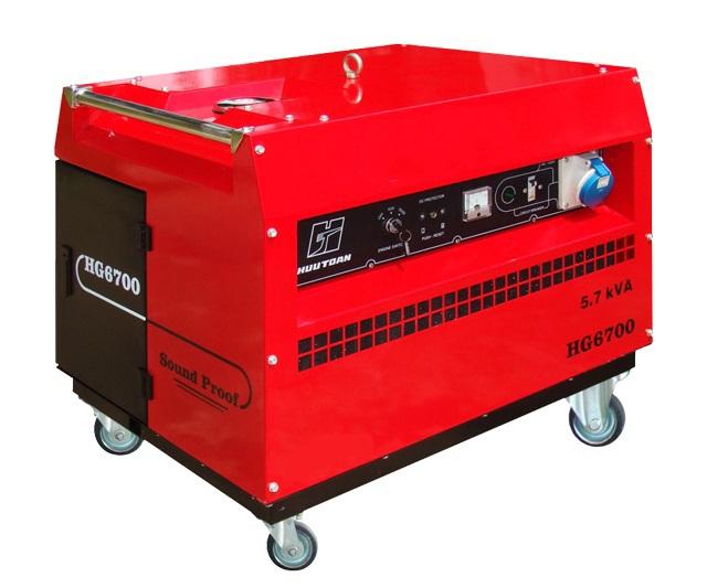Máy phát điện và điện tử 5.700VA HONDA HG6700