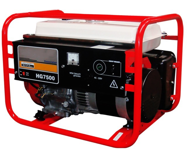 Máy phát điện công suất 6KVA HONDA HG7500