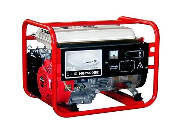 Máy phát điện công suất 6KVA HONDA HG7500SE