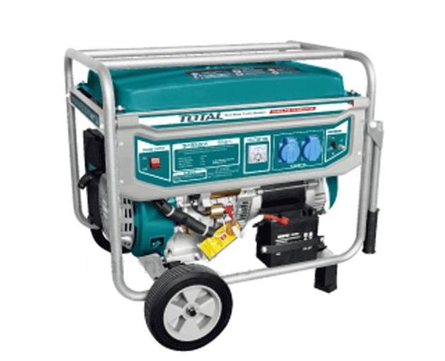 Máy phát điện dùng xăng (dây nhôm) 5.5KW TOTAL TP155001
