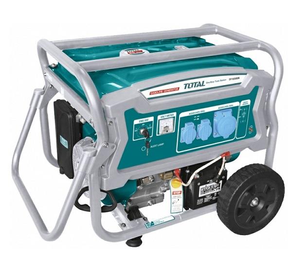 Máy phát điện dùng xăng (dây nhôm) 6.5KW TOTAL TP165006