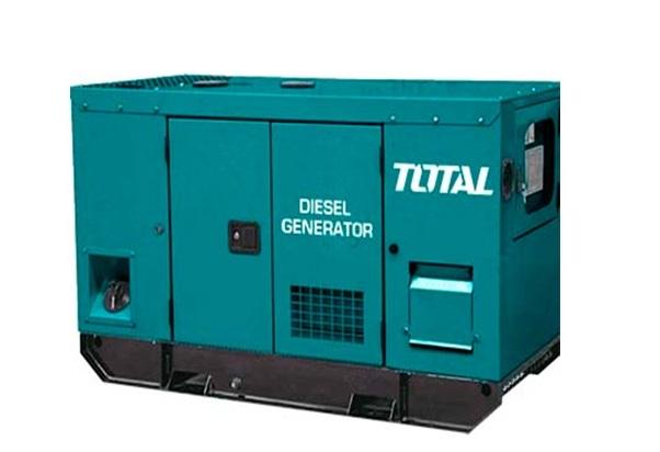 Máy phát điện dùng dầu Diesel 12.5KW TOTAL TP2100K3