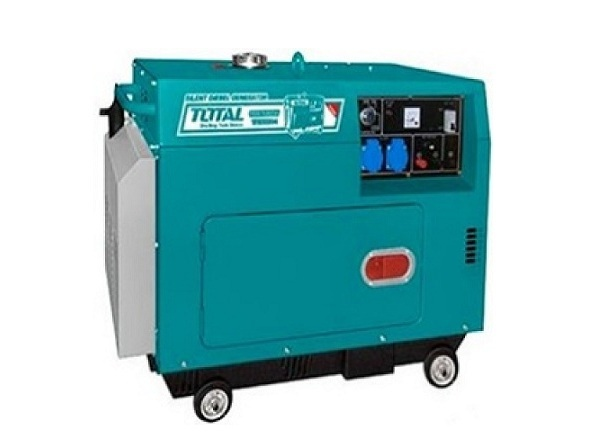 Máy phát điện dùng dầu Diesel 5.0KW TOTAL TP250001