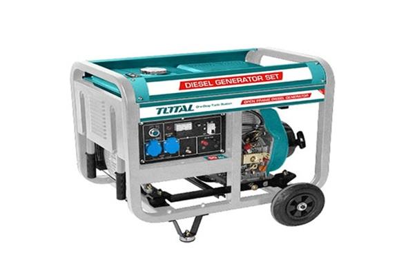 Máy phát điện dùng dầu Diesel 5.0KW TOTAL TP450003