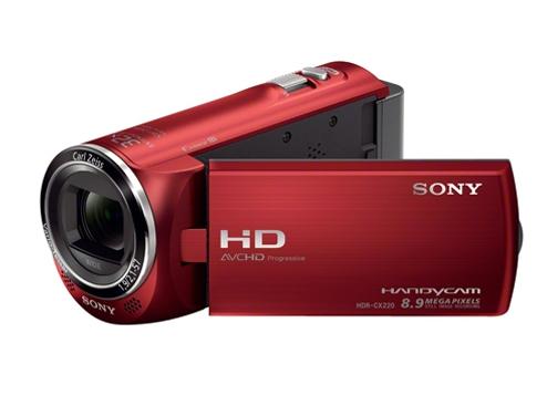 Máy quay phim sử dụng thẻ nhớ SONY HDR-CX220E