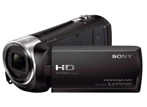 Máy quay phim sử dụng thẻ nhớ SONY HDR-CX240E