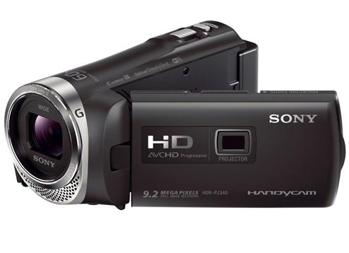 Máy quay phim sử dụng thẻ nhớ SONY HDR-PJ340E