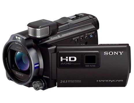 Máy quay phim sử dụng thẻ nhớ SONY HDR-PJ790VE