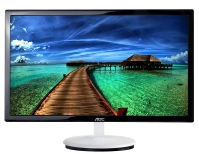 Màn hình LCD 20 inch, 'dao cạo' Razor LED mỏng nhất thế giới 12,9mm AOC Razor e2043F(k)