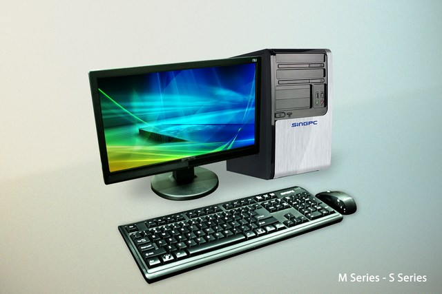 Máy vi tính để bàn SingPC M5442D