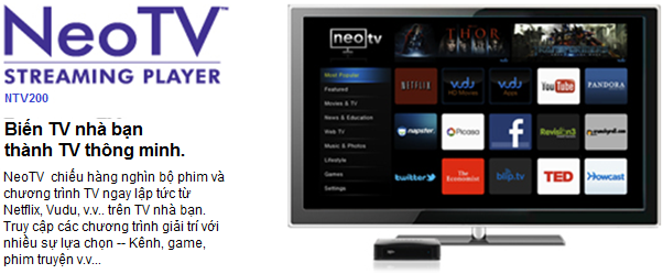 NeoTV™ Streaming Player - NTV200