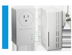 Thiết bị chuyển đổi tín hiệu mạng trên đường dây điệnAV+ 200 Nano - XAVB1601