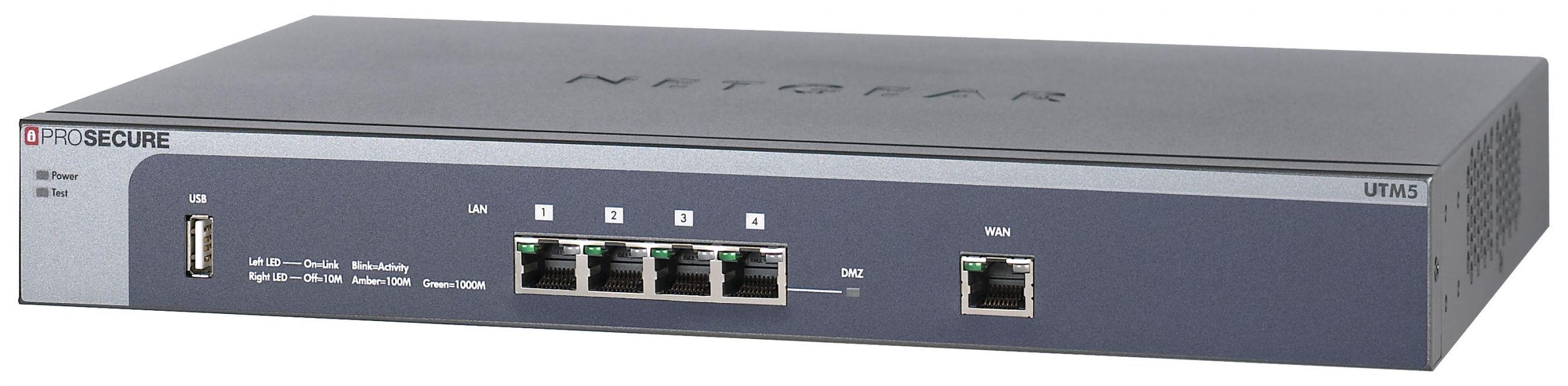ProSecure unified threat management (UTM) appliance - UTM5