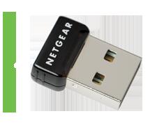 G54/N150 Wireless USB Micro Adapter - WNA1000M