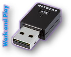 N300 Wireless USB Mini Adapter  WNA3100M