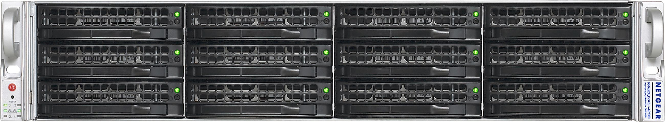 24TB network storage system with optional 10GBE support - RN12T1220