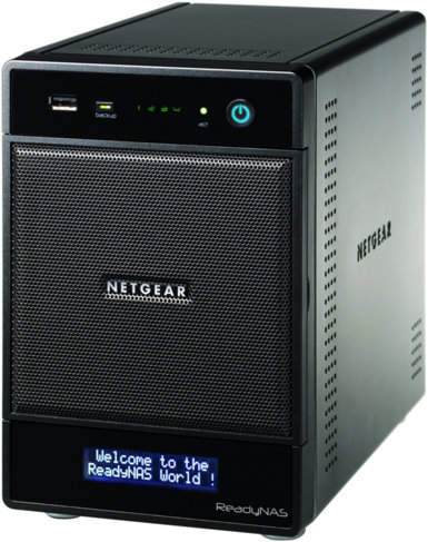 ReadyNAS® Pro 4, 4TB unified storage system - RNDP4410