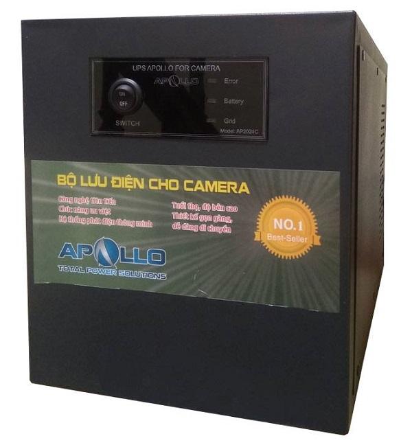 Bộ nguồn lưu điện UPS cho camera APOLLO AP2024C