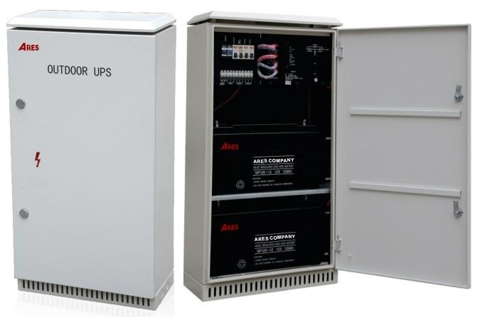 Bộ lưu điện UPS Outdoor ARES AR1000-OD120AH