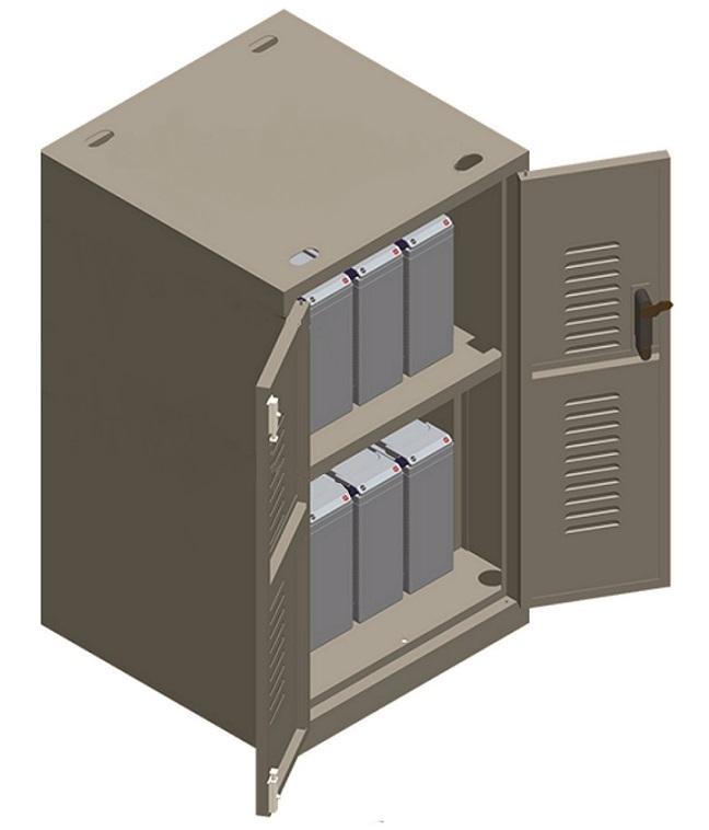 Tủ lắp ráp đựng ắc quy ARES B16100