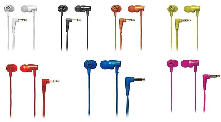 Tai nghe In-Ear HeadPhones Audio-technica ATH-CLR100