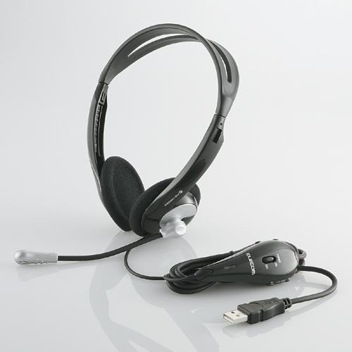 Tai nghe choàng qua đầu có Mic ELECOM HS-HP06USV