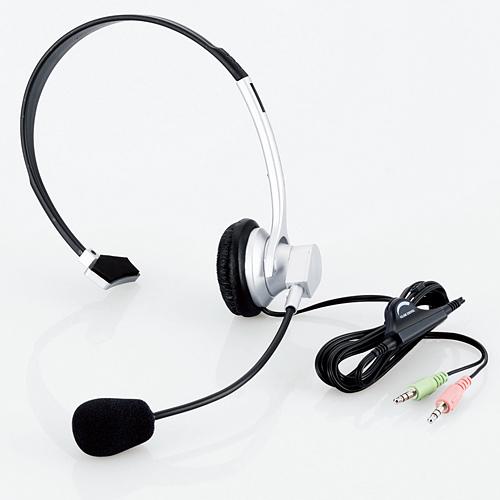 Tai nghe choàng qua đầu có Mic ELECOM HS-HP09SV