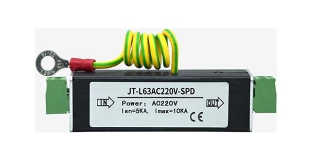 Thiết bị chống sét và bảo vệ nguon HDTEC JT-L63AC220V-SPD