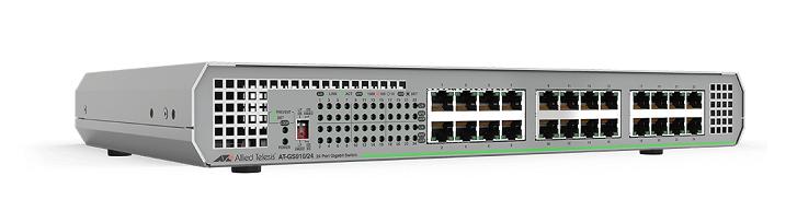 Bộ chuyển mạch Gigabit Ethernet 24 cổng 100/100 / 1000T Gigabit không được quản lý AT-GS910 / 24