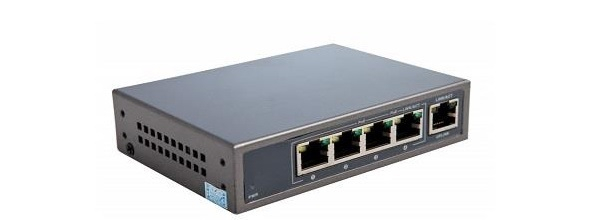 Công tắc PoE 4 cổng 10 / 100Mbps KBVISION KX-SW04P1