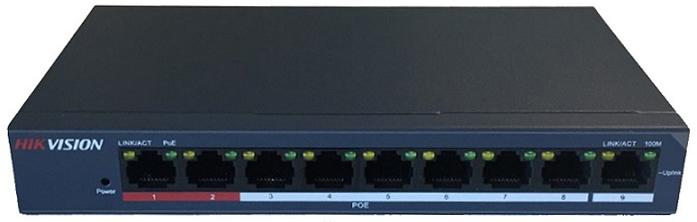 Công tắc PoE 8 cổng 10 / 100Mbps HIKVISION DS-3E0109P-E / M