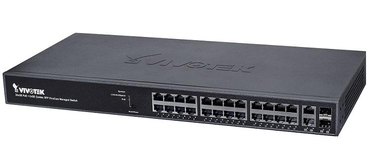 VivoCam L2 + Công tắc PoE được quản lý Vivotek AW-GEV-264A-185