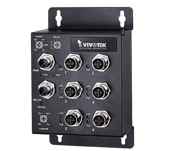 Công tắc PoE không được quản lý công nghiệp Vivotek AW-IHT-0602