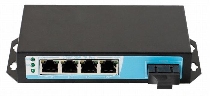 Chuyển mạch PoE 4 cổng 10/100 / 1000Mbps ĐIỆN THOẠI NO-ATG-41F (130 watt)