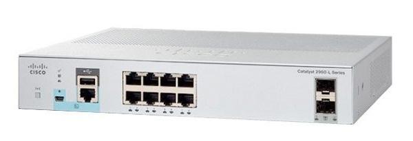Ethernet Gigabit 8 cổng + 2 x Gigabit SFP Chuyển mạch Cisco WS-C2960L-8TS-LL