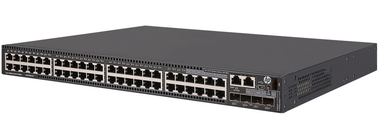 Công tắc HP FlexNetwork 5510 48G 4SFP + HI 1 khe JH146A